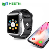 HESTIA Smart Watch A1 WristWatch Bluetooth Sport Pedometer With SIM Camera Smartwatch for Android HUAWEI Apple Samsung watch  MartLion.com