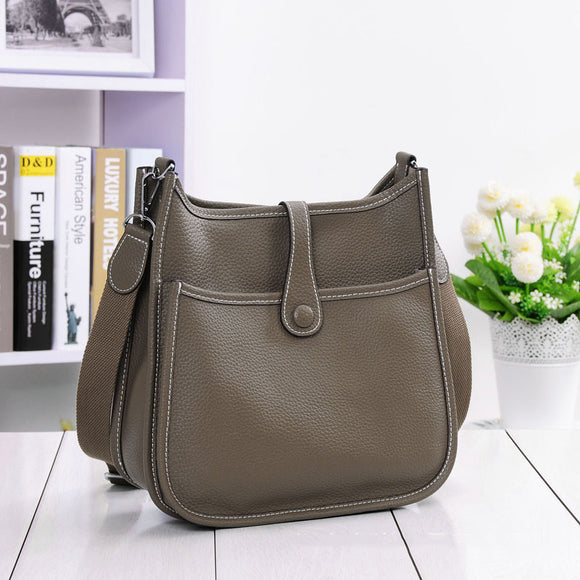 HOT New Fashion Women Genuine Leather Bags Ladies Messenger Shoulder Bag Luxury Famous Brand Handbag Crossbody Bags For Women - Mart Lion  Best shopping website