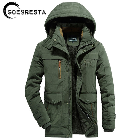 High Quality Winter Warm Thick Jacket Parkas Coat Men Casual Fleece Windbreaker Military Windproof Hat Parkas Jacket Men M-6XL  MartLion