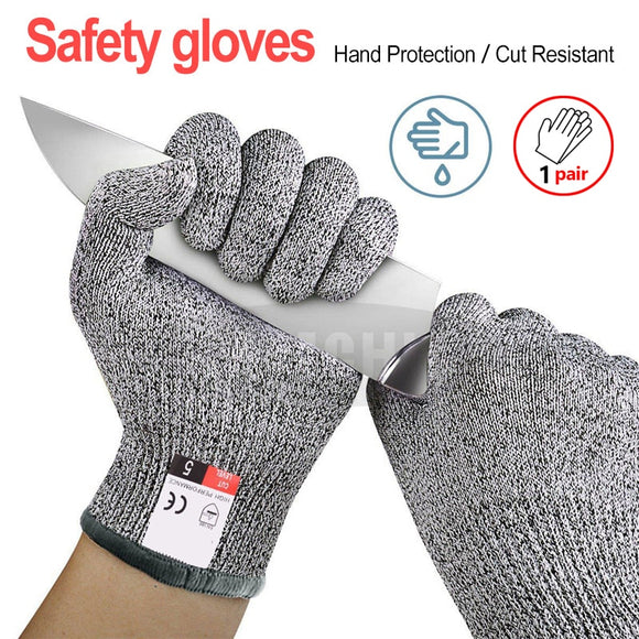 High-strength Grade Level 5 Protection Safety Anti Cut Gloves Kitchen Cut Resistant Gloves for  Fish Meat Cutting Safety Gloves - Mart Lion  Best shopping website