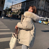 Hot sale Winter Women Coat Jacket Parkas new 2019 thickening loose wind cotton padded 1813  MartLion