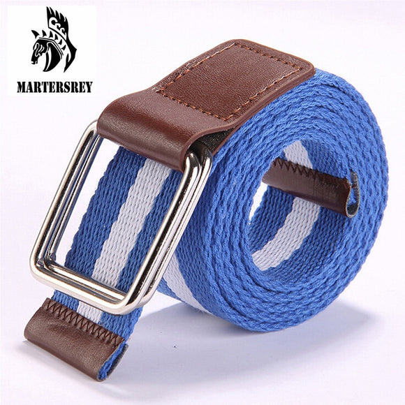 Hot sale unisex canvas belt designer belts men high quality women belts cummerbunds bicyclic buckle elastic stretch fabric - Mart Lion  Best shopping website