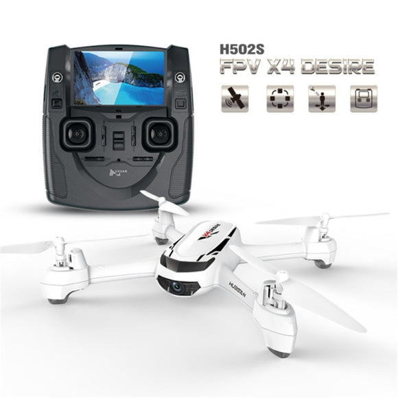 Hubsan X4 H502S 5.8G FPV With 720P HD Camera GPS Altitude One Key Return Headless Mode RC Quadcopter Auto Positioning  MartLion