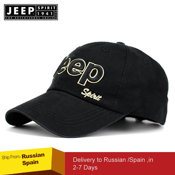 JEEP SPIRIT Brand Summer Baseball Cap Women Men Mesh Breathable Snapback Cap Unisex Adjustable Sport Hats Dad Hat streetwear - Mart Lion  Best shopping website
