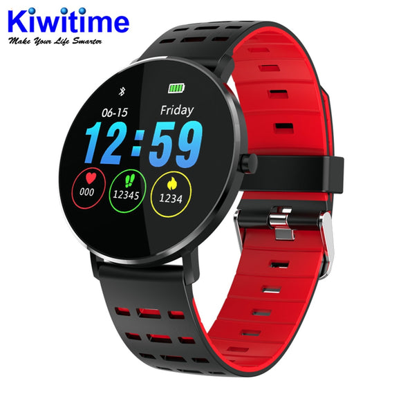 KIWITIME L5 Smart Watch Waterproof Men Smart Watch Bluetooth Android Wristband Call Reminder Heart Rate Pedometer Swimming Ip68  MartLion.com