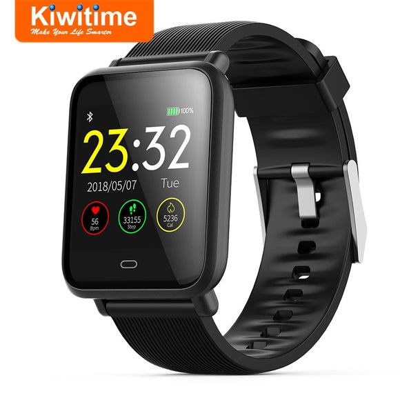 KIWITIME Q9 Smart Watch Fitness Tracker Sport Bracelet Heart Rate Blood Pressure Monitor Smartwatch for Men Women iPhone Android  MartLion