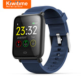 KIWITIME Q9 Smart Watch Waterproof IP67 Connect Heart Rate Blood Pressure Monitor Fitness Bracelet Smartwatch for iPhone Android  MartLion