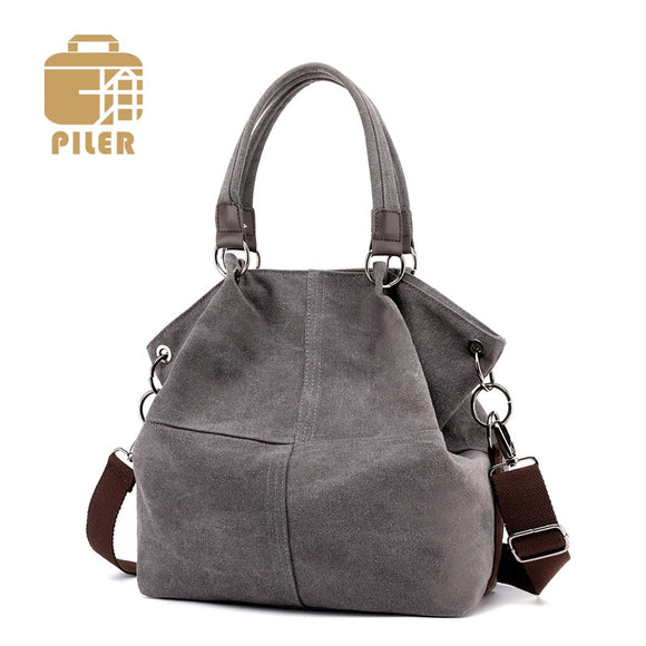 Ladies Hand Bags Casual Canvas Women Bags Handbag Messenger Shoulder Bag Women Female Bags Handbag Bolsa Feminina Bolsos Mujer - Mart Lion  Best shopping website