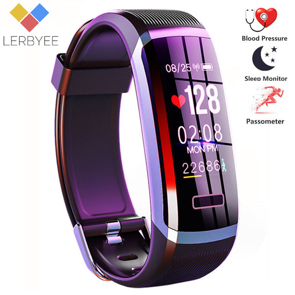 Lerbyee Fitness Tracker GT101 Heart Rate Monitor Bluetooth Smart Bracelet Men Women Sport Smart Watch Pedometer for iOS Android  MartLion.com