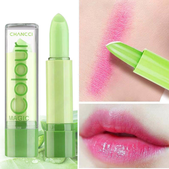 Lip Care Moisturizing Lip Balm Aloe Vera Natural Lipbalm Temperature Color Changing Lipstick Long Lasting Nourish Lips Makeup