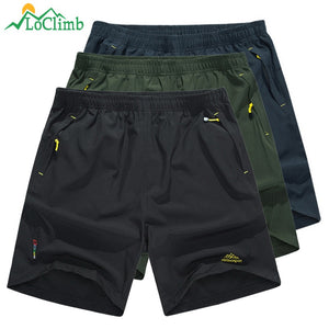 LoClimb 8XL Camping/Hiking Shorts Men Outdoor Mountain Climbing Trekking Shorts Men's Sports Shorts For Running/Cycling AM214  MartLion