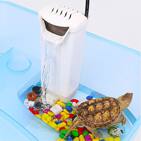 Low Water Filter Aquarium Filter Turtle Filter Efficient Portable 3W White Pet Supplies Circulatory Fish Tank Reptiles - Mart Lion  Best shopping website