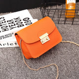 Luxury Fur Brand Candy Mini Leather Bags Handbag Clutch Bag Women 2019 Designer Yellow Small Shoulder Crossbody Bag Travel Purse  MartLion.com