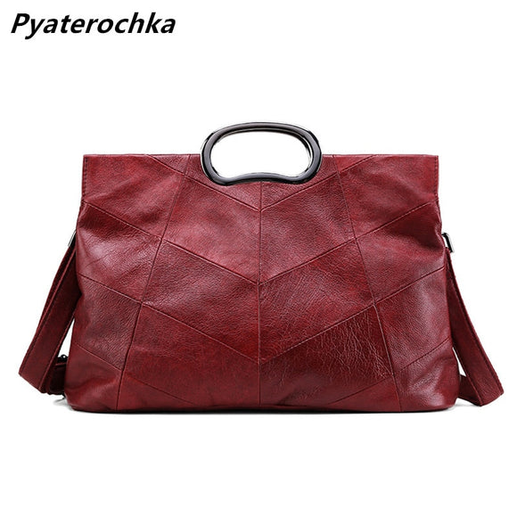 Luxury Handbags Genuine Leather Women Crossbody Bags Ladies Casual Tote Bags High Capacity High Quality Fashion 2019 - Mart Lion  Best shopping website