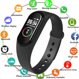 M4 Smart wrist Band Heart rate Blood Pressure Sport Bracelet Watches intelligent For iOS Android 2019 NEW  MartLion