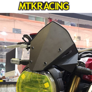MTKRACING cb650r motorcycle aluminum small windshield air curtain for HONDA CB650R CB 650R 2019  MartLion