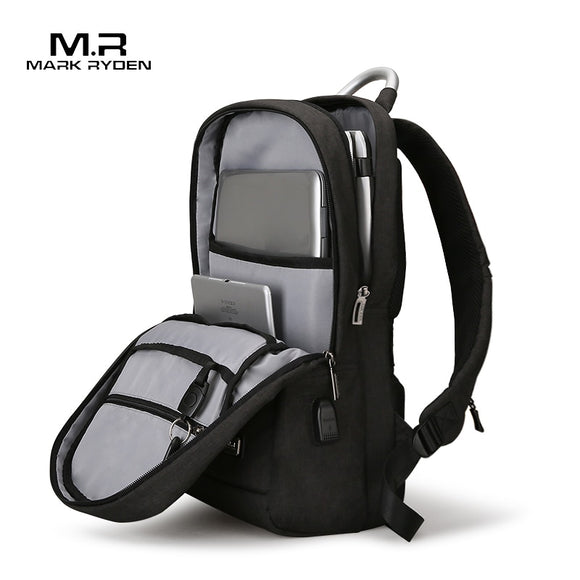 Mark Ryden Anti thief Backpack 15.6 inch laptop Bags for Women Men School Bag Female Male Travel Mochila