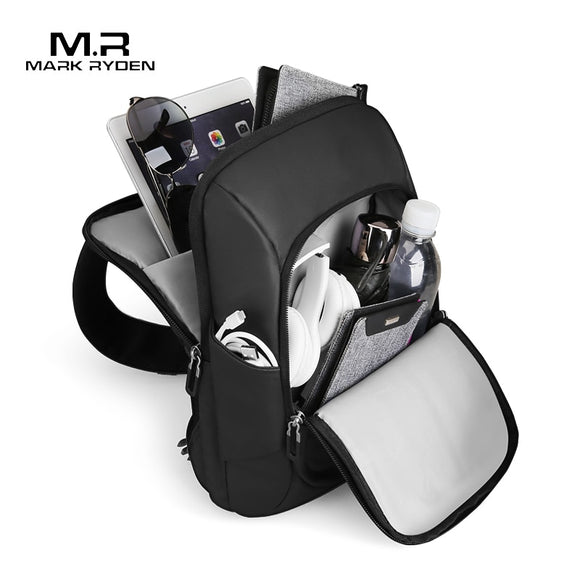 Mark Ryden New Multifunction Crossbody Bag for Men Anti-theft Shoulder Messenger Bags Male Waterproof Short Trip Sling Bag Pack  MartLion.com