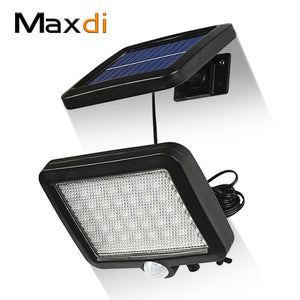 Maxdi Led Solar Lights Outdoor Motion Sensor Garden light PIR Wall Lamp Waterproof Emergency Suitable Front door Garage Fence  MartLion