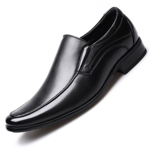Mazefeng Classic Business Men's Dress Shoes Fashion Elegant Formal Wedding Shoes Men Slip On Office Oxford Shoes For Men 2020