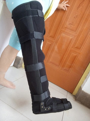 Medical Fibula Tibiofibular Ankle Foot Brace Knee Joint Leg Lower Limb Rehabilitation Fracture Aluminum External Fixation Brace  MartLion
