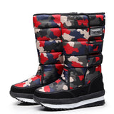 Men Boots Platform Woman Snow Boots for Men Thick Plush Waterproof Slip-resistant 2019 Winter Keep Warm Shoes Plus Size 34 - 47  MartLion
