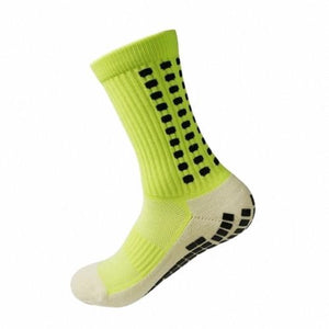 Men Football Socks Anti Slip Soccer Socks Men Sports Socks Good Quality Cotton Calcetines The Same Type As The Trusox 10 Colors  MartLion