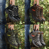 Men's and women's high-top hiking shoes 2020 non-slip wear-resistant outdoor travel rock climbing hiking shoes  MartLion