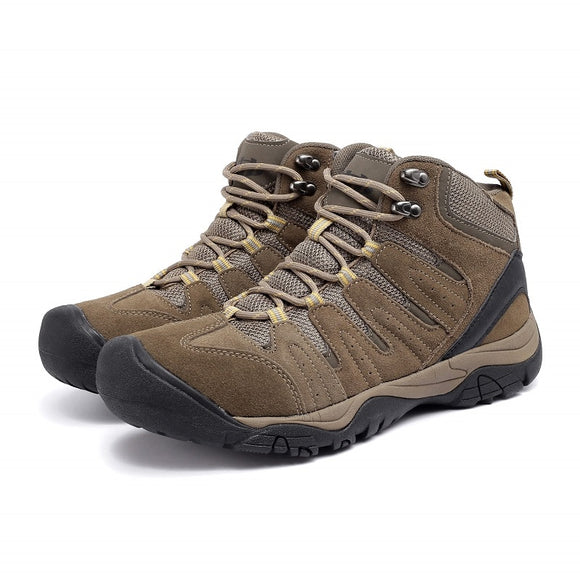 Men's large mountaineering shoes breathable and quick-drying outdoor cross-country shoes anti-skid and wear-resistant