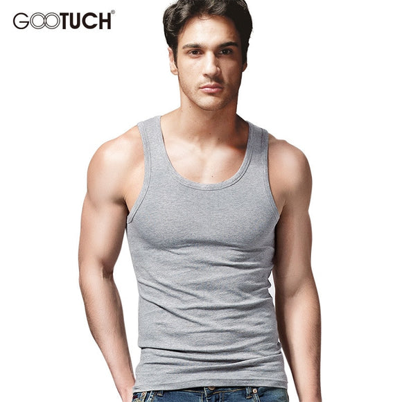Mens Cotton Tank Tops Vest Sleeveless Shirt Undershirt Fashion Design Tanks Vest Undershirt Stylish Mens Plus Size Singlet 5038  MartLion