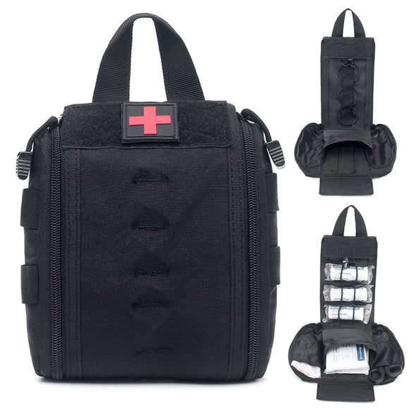 Molle Tactical First Aid Kit Utility Medical Accessory Bag Waist Pack Survival Nylon Pouch Outdoor Survival Hunting Medic Bag  MartLion.com