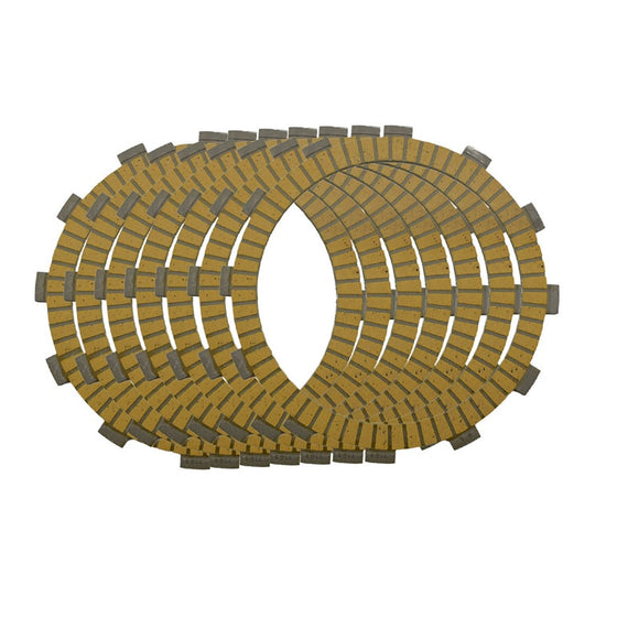 Motorcycle Clutch Friction Plates Set For Kawasaki ZZR400 ZRX400 KLE 400 / 500 Lining #CP-0009 1989-2003  MartLion