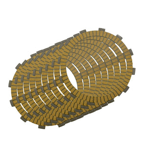 Motorcycle Clutch Friction Plates Set for Kawasaki KZ1000 1979-2005 / KZ1100 1981-1983 Clutch Lining #CP-0009  MartLion