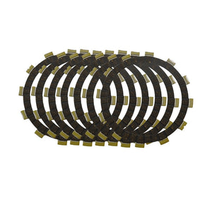 Motorcycle Clutch Friction Plates Set for SUZUKI PE175 PE 175 Enduro 1980-1984 Clutch Lining #CP-00011  MartLion
