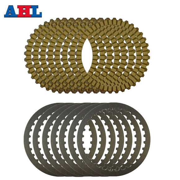 Motorcycle Engine Parts Clutch Friction Plates Kit & Steel Plates For Harley Sportster 883 XL883 XL883C XLH883 XL883L  MartLion