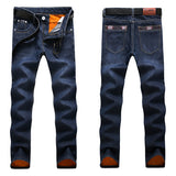 NIGRITY Brand New Men's Fashion Jeans Hot Jeans For Young Men Sale Men's Pants Casual Slim Cheap Straight Trousers Free Shipping  MartLion.com