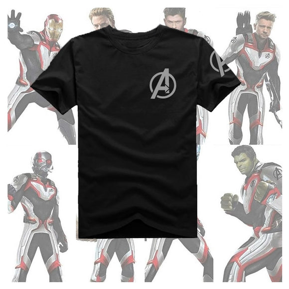 New Avengers: Endgame  T Shirt Avengers 4 Infinity War Quantum suit T-shirt Hero Cosplay Cotton Tops Tees  MartLion