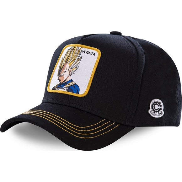 New Brand Vegeta Super Saiyan Dragon Ball Snapback Cap Cotton Baseball Cap For Men Women Hip Hop Dad Hat Bone Dropshipping - Mart Lion  Best shopping website