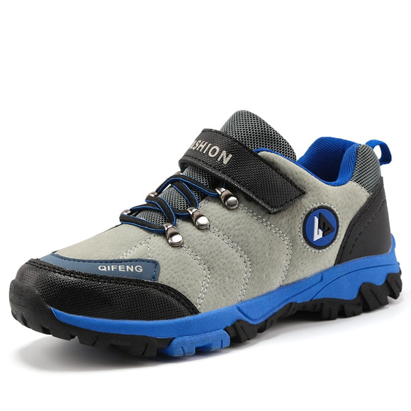 New Children Outdoor Sports Hiking Boots Teenagers Mountain Climbing Trekking Shoes Ankle Boots Kids Sneakers Hiking Kids Shoes
