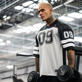 New Clothing Fashion Bodybuilding tShirt Men Breathable Short Sleeve Fitness shirt Gyms Loose Tees Casual Summer Tops sweatshirt - Mart Lion  Best shopping website