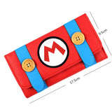 New Design Wallet Super Mario Cartoon Long Purse for Young Women With Card Holder  MartLion