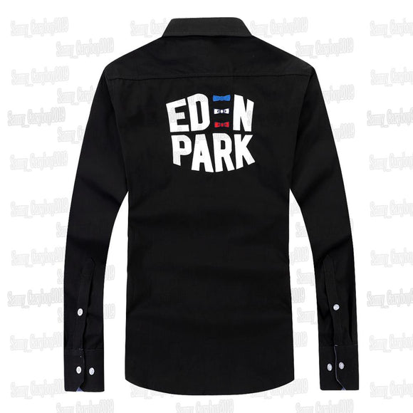 New Eden Park HOMME Shirt COTTON Nice Quality France MEN SHIRT High Embroidery FASHIONl style Big size M L XL XXL 3XL EdenPark  MartLion