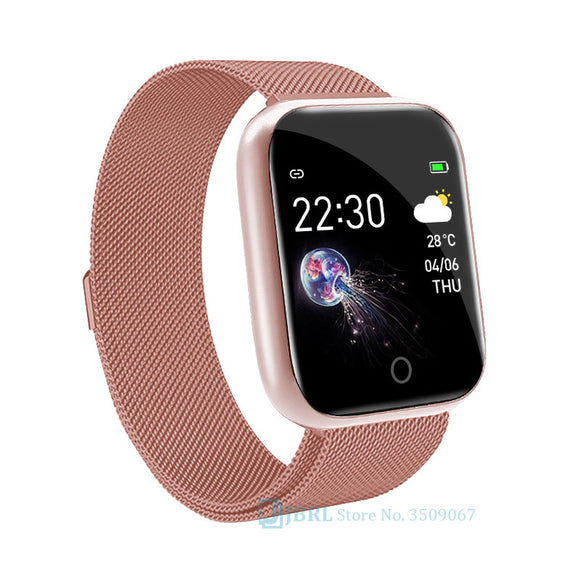 New Fashion Smart Band Women Men Smartband For Android IOS Wristband Smart Bracelet Fitness Tracker Brand Bluetooth Smart-band  MartLion