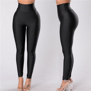 New High Waist Leggings Women Fitness Clothes 2019 Slim Ruched Bodybuilding Women's Pants Athleisure Female Sexy Leggings F3  MartLion