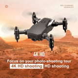 New Mini Drone with 4K Camera HD Foldable Drones One-Key Return FPV Quadcopter Follow Me RC Helicopter Quadrocopter Kid's Toys  MartLion.com