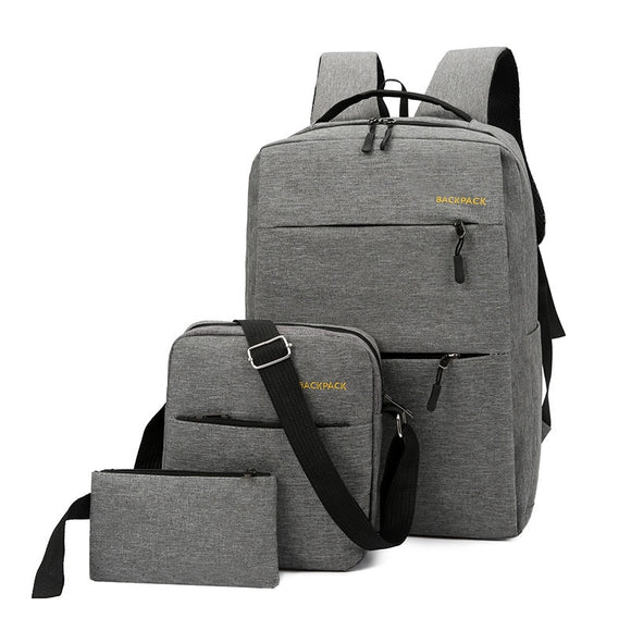 New leisure travel men's multifunctional Korean laptop bag  luxury backpack - Mart Lion  Best shopping website