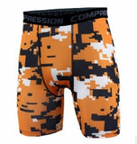 Newest Summer Army Compression Shorts Tights Men Spandex Quick Dry Shorts Wear Vansydical X-large XXXL - Mart Lion  Best shopping website