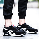 Non-Leather Casual Men Shoes Black Sneakers Cushion Breathable Shoes Male Sporting Sneakers Zapatos De Hombre Size 39-44  MartLion