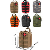 Outdoor Sports Should Mountaineering Rock Climbing Lifesaving Bag Tactical Medical Wild Survival Emergency Kit First Aid Bag  MartLion