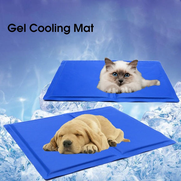 Pet Dog Gel Cooling Mat Summer Keep Cool Ice Pad Teddy Mattress Pet Self Cooling Mat Blanket Breathable Cat Dog Sleeping Mat  MartLion.com